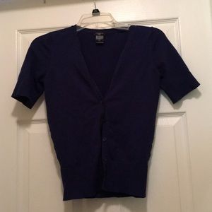 Short sleeve button up cardigan from Ann Taylor